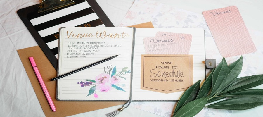 8 Things Every Bride Needs to Do When She Starts to Plan Her Wedding